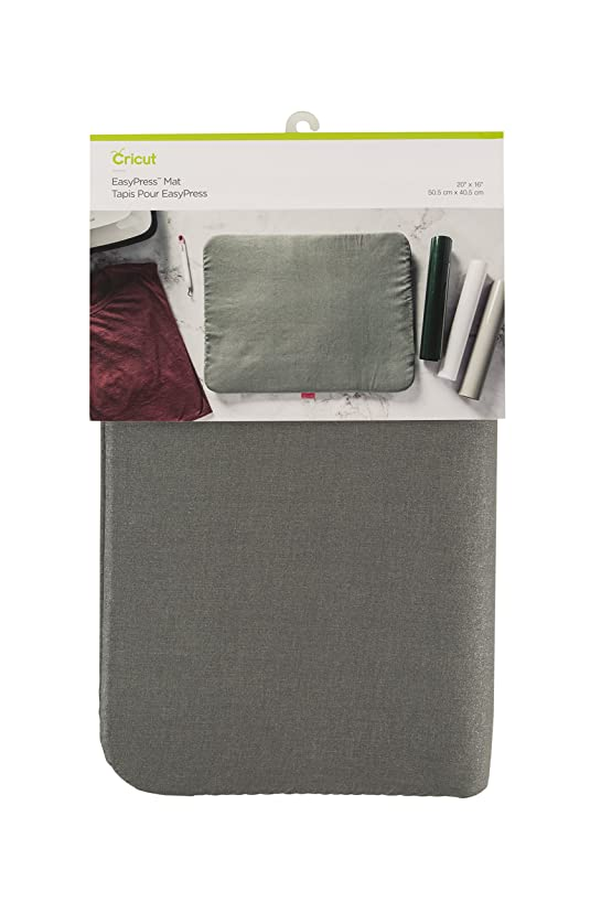 Cricut 2005398 16X20 Easy Press Mat, 16x20-Inches, Gray