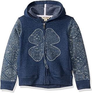 Lucky Brand Girls' Long Sleeve Zip Up Hoody