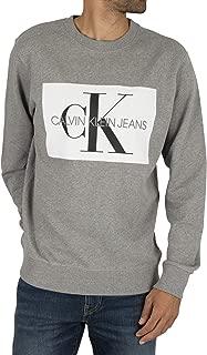 calvin klein jeans grey hoodie