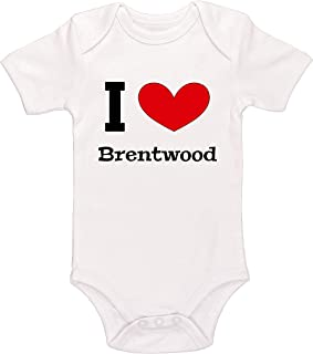 Kinacle I Love Brentwood Baby Bodysuit