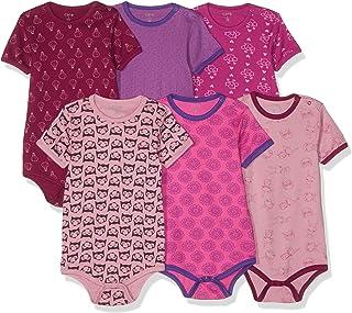 Care Baby - Mädchen 550203 Formender Body 6er Pack