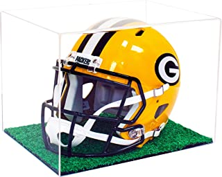 Deluxe Acrylic Full Size Football Helmet Display Case