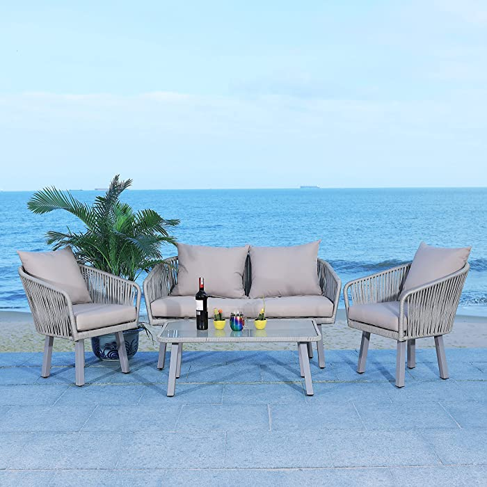 Updated 2021 – Top 10 Rope Patio Furniture Sets