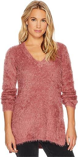Jack by BB Dakota - Pam Eyelash Deep-V Sweater