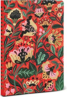 High Note Undated Planner Personal Planning Notebook Dinara's Vibrant Floral  with 144 Lined Pages