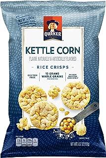 Quaker Rice Crisps, Kettle Corn, 3.52 oz Bag (Packaging May Vary)
