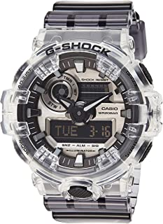 Casio Analog-Digital Grey Dial Men's Watch-GA-700SK-1ADR (G954)