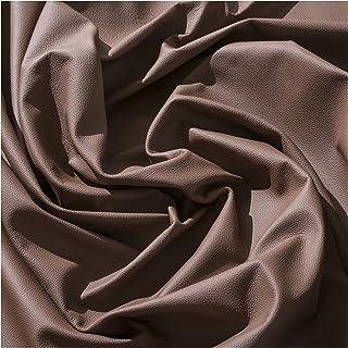 IPEA Coupes de Cuir véritable en différentes Couleurs et Dimensions – Surface martelée – Marron 30 x 30 cm