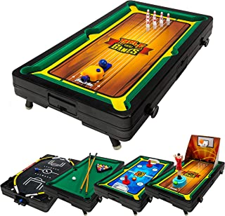 Franklin Sports 5 In 1 Sports Center Table Top, 18.5 x 10.5