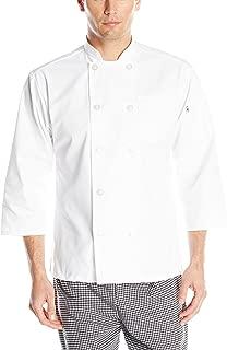 Uncommon Threads Unisex 10 Button 3/4 Sleeve Chef Coat