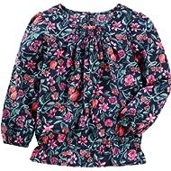 OshKosh B'Gosh Girls' Long Sleeve Fashion Top