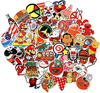 CHNLML Love Sticker Pack 100-Pcs,Cool Sticker Decals Vinyls for Laptop,Kids,Cars,Motorcycle,Bicycle,Skateboard Luggage,Bumper Stickers Hippie Decals Bomb Waterproof(Not Random) (E)