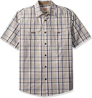 Wrangler Authentics Men`s Short Sleeve Canvas Shirt