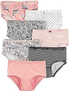 7-Pack Stretch Cotton Undies Pink Animals-Print Underwear