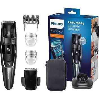 Philips BT7520/15, Tondeuse barbe Series 7000 avec système d'aspiration des poils