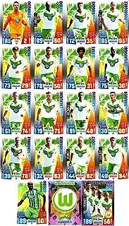 Match Attax Bundesliga 2015 2016 - Karten-Set VfL Wolfsburg Cap Viererkette Clubkarte - Deutsch