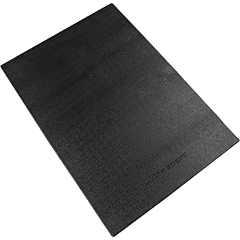 【Amazon限定ブランド】ウルトラスポーツ トレーニングマット 床保護 衝撃吸収 ずれ防止 防音 厚さ4mm ブラック