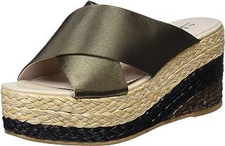 e566fb27954 Amazon.es: Satén - Sandalias y chanclas / Zapatos para mujer ...