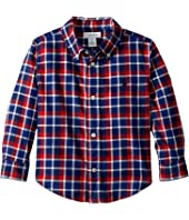 Ralph Lauren Baby - Plaid Cotton Twill Shirt (Infant)