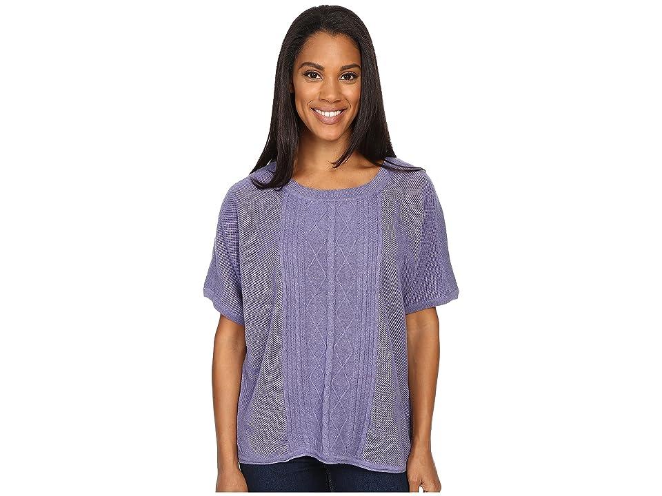 Prana Nadine Sweater (Purple Fog) Women