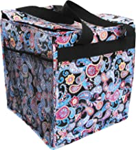 Two Lumps of Sugar Trunkey Tote - Thermal Lined Folding Carryall Multi