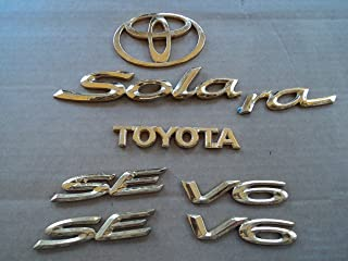 Best gold plated toyota emblems Reviews