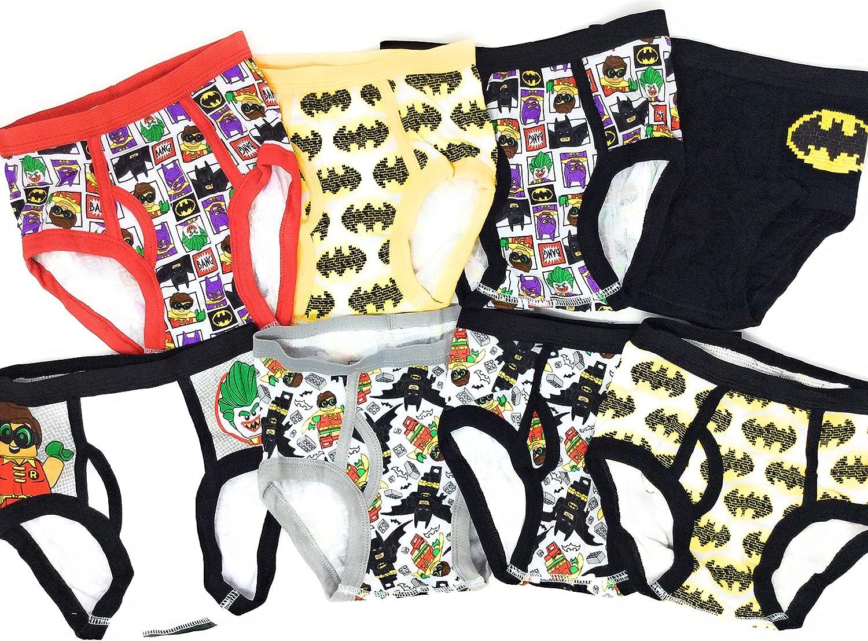 Lego Batman 8-Pack Boys Briefs Underwear The Batman Movie Robin Batman The Joker