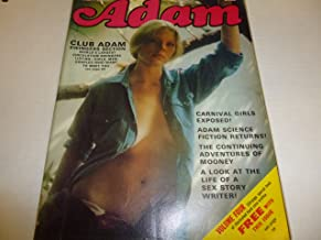 "Adam Busty Adult Magazine ""Carnival Girls Exposed"" Vol.17 #1 February 1973"