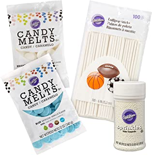 Wilton Blue-Themed Party Candy Melts Candy Kit, 4-Piece