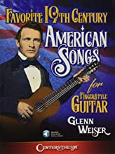 Favorite 19th Century American Songs for Fingerstyle Guitar Bk/Online Audio