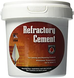 MEECO'S RED DEVIL 610 Refractory Cement – Indoor Use Only