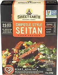Sweet Earth, Seitan Chipotle Style Strips, 8 Ounce