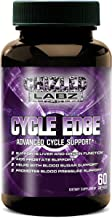 Cycle Support with Advanced Supplement CYCLE EDGE, Assist Liver and Organs, Prostate, Testosterone Blood Sugar and Blood Pressure. Includes Saw Palmetto, Milk Thistle, Hawthorne and More! 30 servings