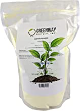 Yellow Sulfur Powder Greenway Biotech Brand 5 Pounds