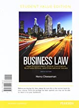 Business Law, Student Value Edition Plus 2017 MyLab Business Law with Pearson eText -- Access Card Package (9th Edition)