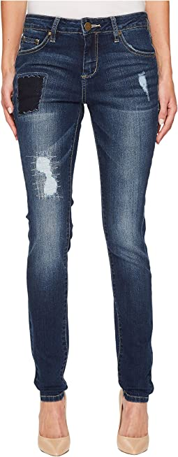 Sheridan Skinny Jeans in Bucket Blue