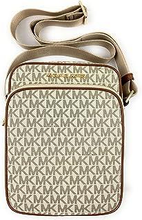 Michael Kors Jet Set Travel Signature Medium Flight Bag Crossbody
