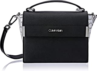 Calvin Klein Raelynn Saffiano Top Handle Flap Crossbody