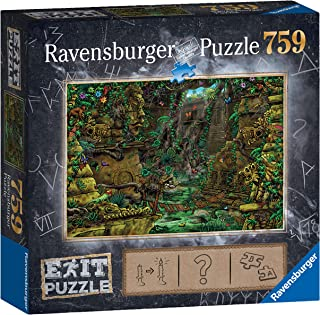 Ravensburger Exit Puzzle – Temple 759pc Mystery Jigsaw Puzzle