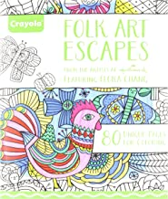 Crayola Folk Art Escapes Coloring Book
