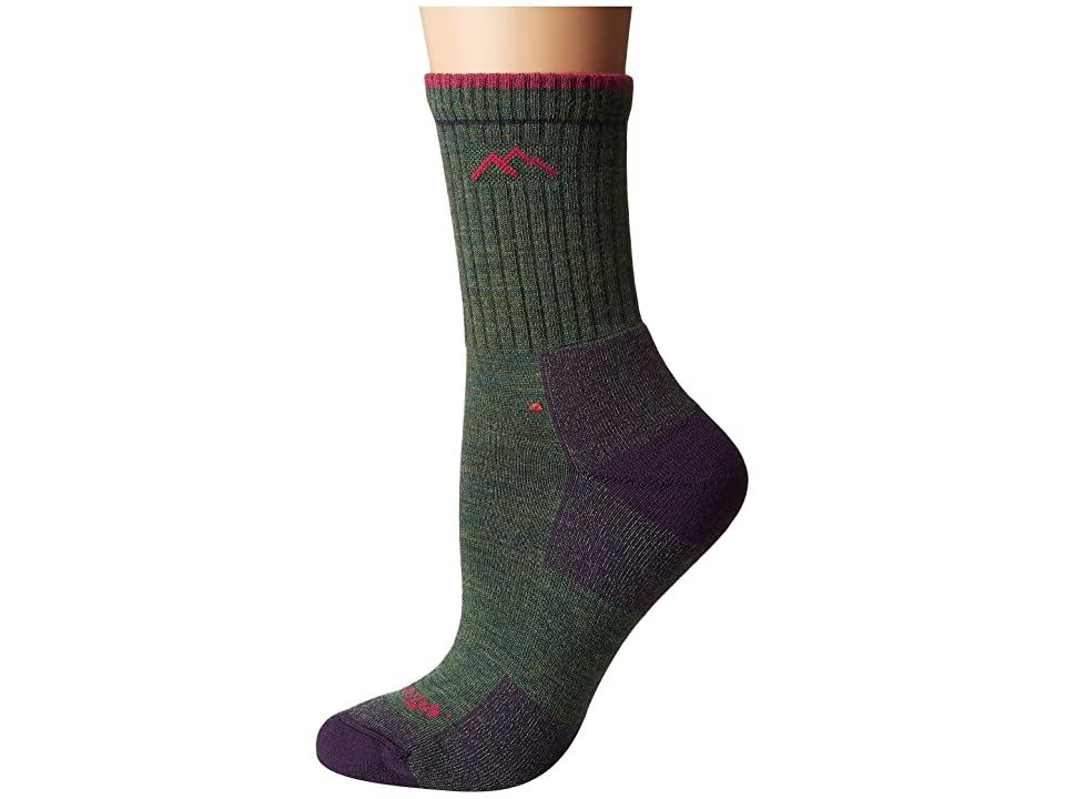 Darn Tough Vermont - Darn Tough Vermont Merino Wool Micro Crew Socks Cushion , Green