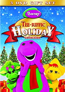 Barney:Tee-Riffic Holiday Collection (Can You Sing That Song? / Night Before Christmas The Movie / Winter Wonderland)