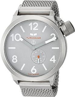Vestal Unisex CNT453M09.MSVM Canteen Metal Analog Display Analog Quartz Silver Watch