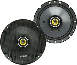 KICKER 46CSC674 CS Series Low Profile 6.75 Inch 3.3 Ohm 100 Watts RMS Power Factory Replacement Coaxial Car Audio Sound Sy... photo