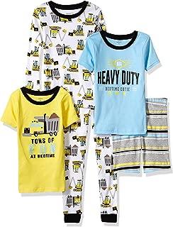 Carter ' s 小男孩5件套棉质 snug-fit 睡衣