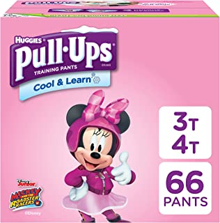 Pull-Ups Cool & Learn Potty Training Pants for Girls,  3T-4T (32-40 lb.),  66 Ct. (Packaging May Vary)