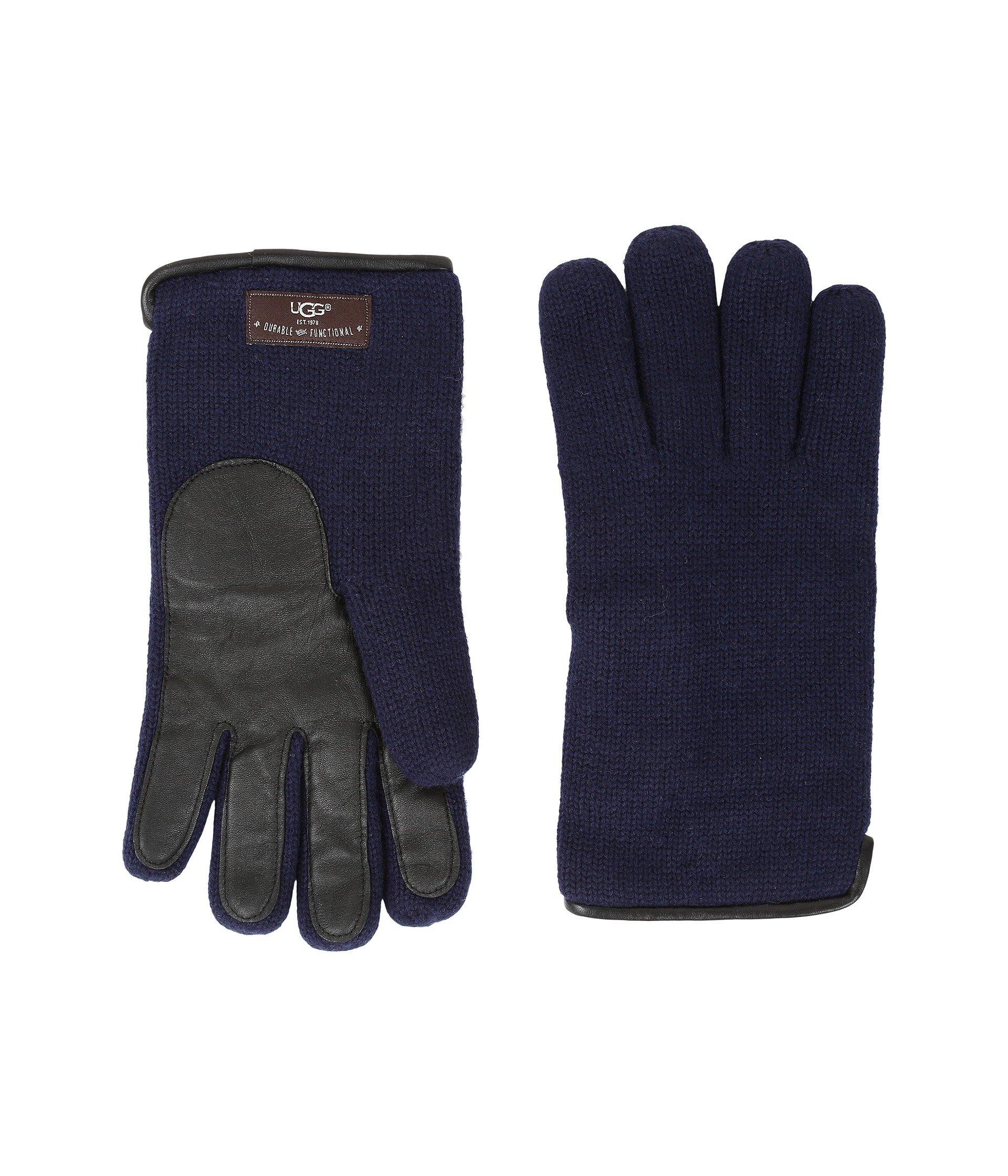 Guantes para Hombre UGG Knit Tech Solid Gloves  + UGG en VeoyCompro.net