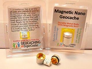 ShopGSC Magnetic Nano Geocache - Silver 5 Pack