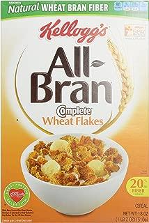 Kellogg's All-Bran Complete Wheat Flakes - 18 oz