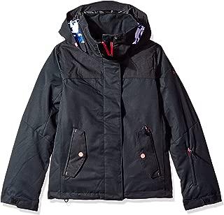 Roxy Girls' Big Jetty Solid Snow Jacket
